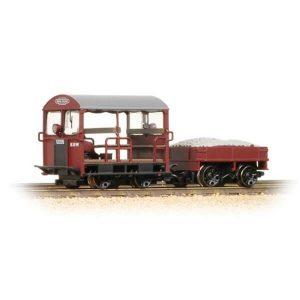 Bachmann 32-991 Wickham Type 27 Trolley Car BR Maroon
