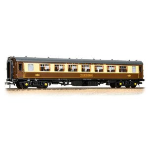 Bachmann 39-310C BR Mk1 SP Pullman 2nd Parlour 'Car 350' Umber And Cream