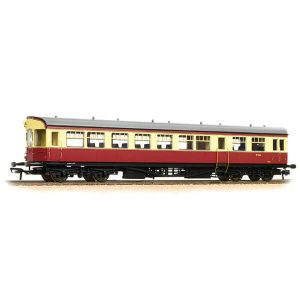 Bachmann 39-578 BR Auto Trailer BR Crimson and Cream
