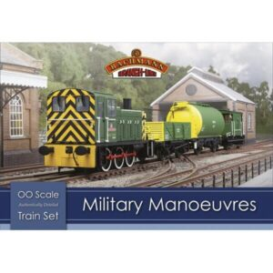 Bachmann 30-130 Military Manouvres Train Set