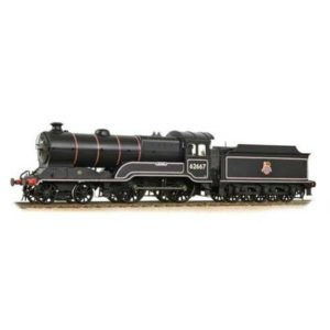 Bachmann 31-146A Class D11 62667 'Somme' BR Black with Early Crest