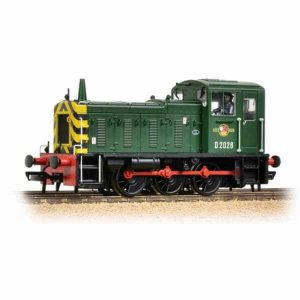 Bachmann 31-361B Class 03 D2028 BR Green with Wasp Stripes