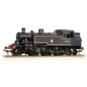 Bachmann 31-440 Ivatt Class 2MT Tank 41243 BR Black with Early Crest