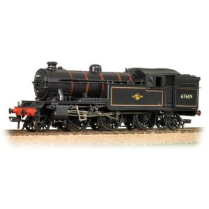 Bachmann 31-614 Class V3 Tank 67646 BR Lined Black with Late Crest