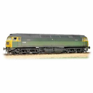 Bachmann 31-656 Class 47/0 47256 BR Green with Full Yellow Ends
