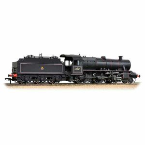 Bachmann 31-691 Class 5 Stanier Mogul 42969 BR Lined Black with Early Crest