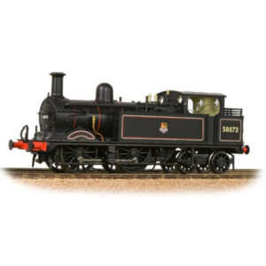 Bachmann 31-742 Class 1P 58072 BR Black with Early Crest