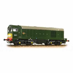 Bachmann 32-027B Class 20 D8011 BR Green Small Yellow Panel with Indicator Discs