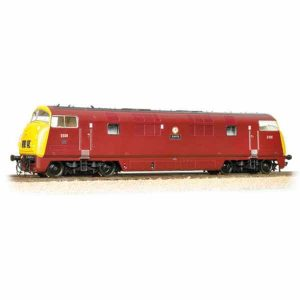 Bachmann 32-068 Class 43 D838 'Rapid' BR Maroon with Full Yellow Ends