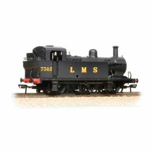 Bachmann 32-227DS Class 3F Jinty 7365 LMS Black with DCC Sound Fitted