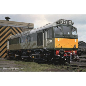 Bachmann 32-341 Class 25/2 D5282 BR Green with Small Yellow Panel