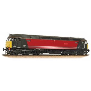 Bachmann 32-819 Class 47/0 47814 'Totnes Castle' in Virgin Livery