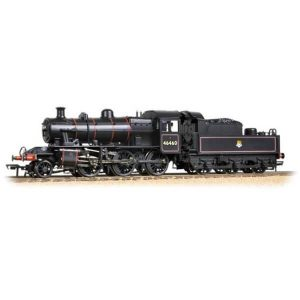 Bachmann 32-826A Ivatt Class 2MT 46460 BR Black with Early Crest