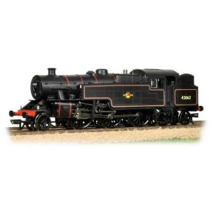 Bachmann 32-882 Fairburn Tank 42062 BR Lined Black with Late Crest