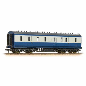 Bachmann 34-332 Ex-LMS 50ft. Full Brake BR Blue and Grey