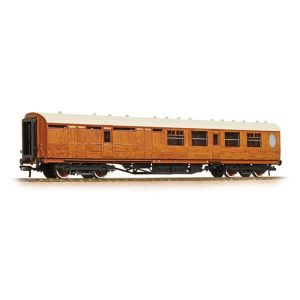 Bachmann 34-460 LNER Thompson Corridor Brake Third LNER Teak