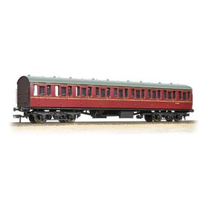 Bachmann 34-604C BR Mk1 Suburban S Second BR Maroon with Passengers