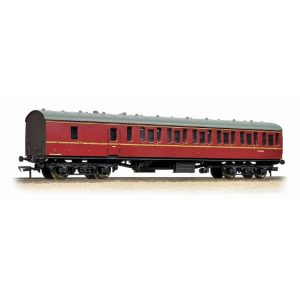 Bachmann 34-630B BR Mk1 Suburban BS Second Brake BR Maroon with Passengers