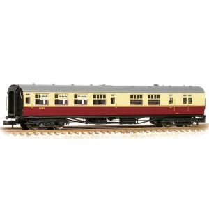 Bachmann 34-727 Bulleid Brake Third Semi-Open (15″ Vents) BR Crimson and Cream