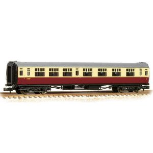 Bachmann 34-751 Bulleid Corridor Composite (15″ Vents) BR Crimson and Cream