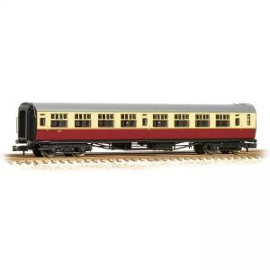 Bachmann 34-776 Bulleid Corridor Third (15″ Vents) BR Crimson and Cream