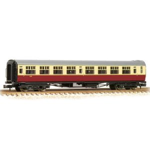 Bachmann 34-776A Bulleid Corridor Third (15″ Vents) BR Crimson and Cream