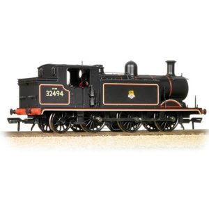 Bachmann 35-079 Class E4 32494 BR Lined Black with Early Crest