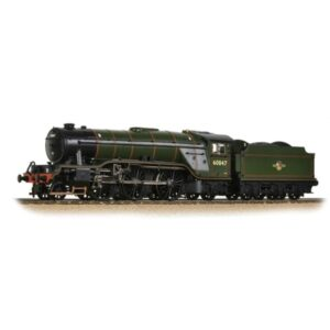 Bachmann 35-202 Class V2 60847 'St. Peter's School' BR Lined Green with Late Crest