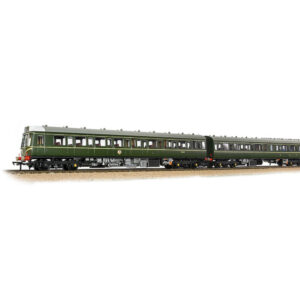 Bachmann 35-500 Class 117 3 Car DMU BR Green with Speed Whiskers