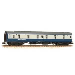 Graham Farish 374-927A BR Mk1 SLSTP Sleeper Car BR Blue and Grey