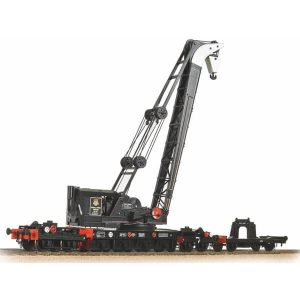 Bachmann 38-802 45 Ton Ransomes Crane BR Black with Early Crest