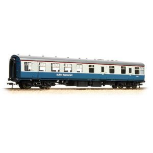 Bachmann 39-100C BR Mk1 RU Restaurant Car BR Blue and Grey