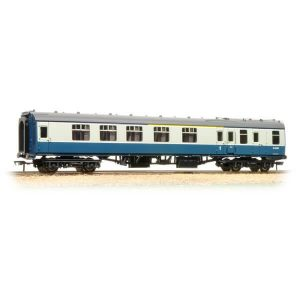 Bachmann 39-225A BR Mk1 BCK Brake Corridor Composite Blue and Grey