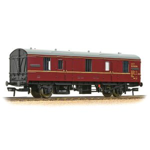 Bachmann 39-550 BR Mk1 CCT Covered Carriage Truck BR Maroon
