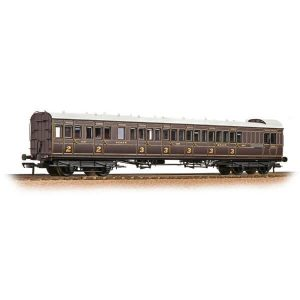 Bachmann 39-600A SECR 60′ Birdcage Brake Composite SE & CR Dark Lake