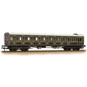 Bachmann 39-620 SECR 60′ Birdcage Brake Third SE & CR Dark Lake