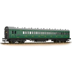 Bachmann 39-623 SECR 60′ Birdcage Brake Third SR Malachite Green