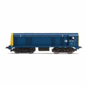 Hornby R3394TTS Class 20 20163 BR Blue with TTS Sound Fitted