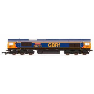 Hornby R3573 Class 66 66751 'Hitachi Rail Europe' GBRF