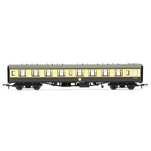 Hornby R4708 BR Mk1 SK Second Corridor BR Chocolate and Cream