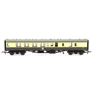 Hornby R4710 BR Mk1 BSK Brake Second Corridor BR Chocolate and Cream