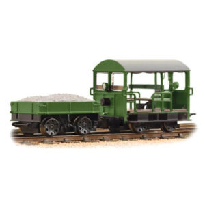 Bachmann 32-994 Wickham Type 27 Trolley Car BR Green