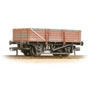 Bachmann 33-087 5 Plank China Clay Wagon BR Bauxite Weathered