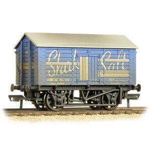 Bachmann 33-179B 10T Covered Salt Wagon Shaka Salt Weathered