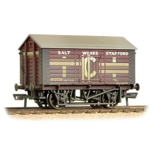Bachmann 33-186 10T Covered Salt Wagon ICI Weathered