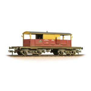 Bachmann 33-831 25T Queen Mary Brake Van SatLink Weathered