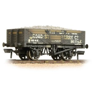 Bachmann 37-039 5 Plank Wagon Steel Floor Helwith Bridge Road Stone Quarry Weathered
