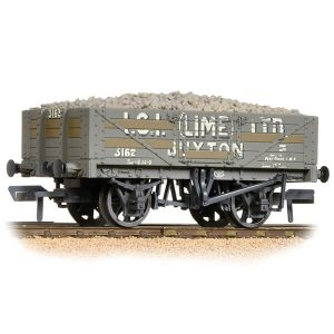 Bachmann 37-040 5 Plank Wagon Steel Floor I.C.I. (Lime) Ltd Weathered