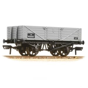 Bachmann 37-061C 5 Plank Wagon Wooden Floor BR Grey