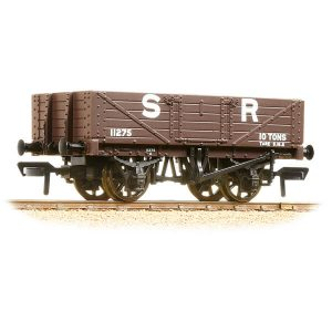 Bachmann 37-067 5 Plank Wagon Wooden Floor SR Brown